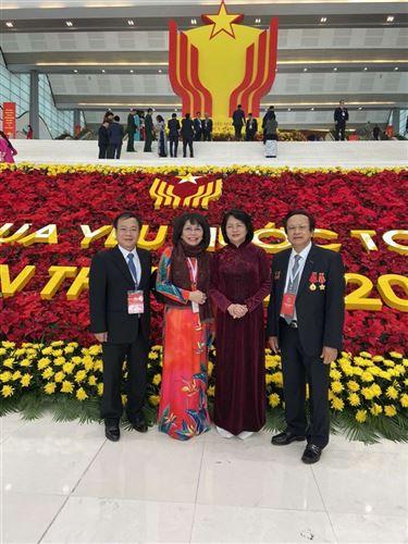 Ông Nguyễn Đức Cây – Chủ tịch HĐQT Công ty tham dự đại hội thi đua yêu nước toàn quốc lần thứ X.