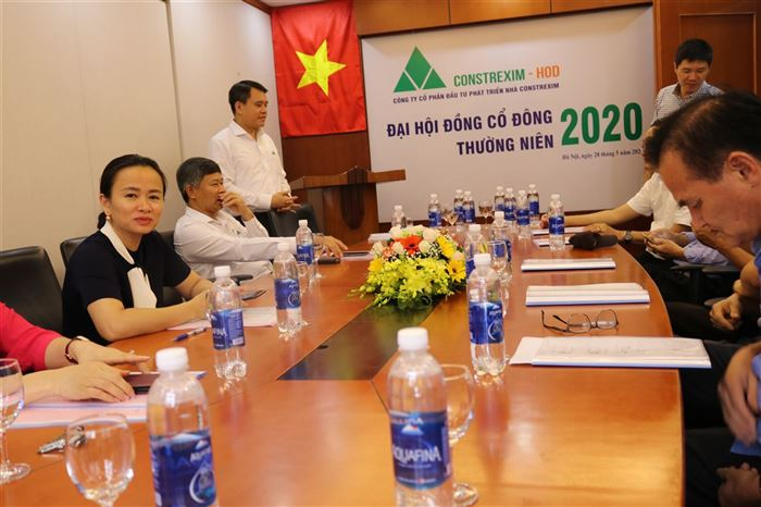 Công ty CONSTREXIM – HOD tổ chức đại hội đồng cổ đông năm 2020