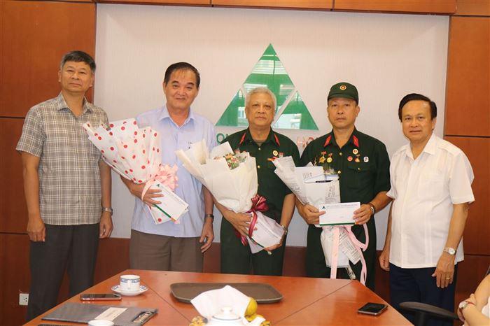 Công ty CONSTREXIM – HOD tổ chức gặp mặt tri ân nhân kỷ niệm 73 năm ngày Thương binh, Liệt sỹ