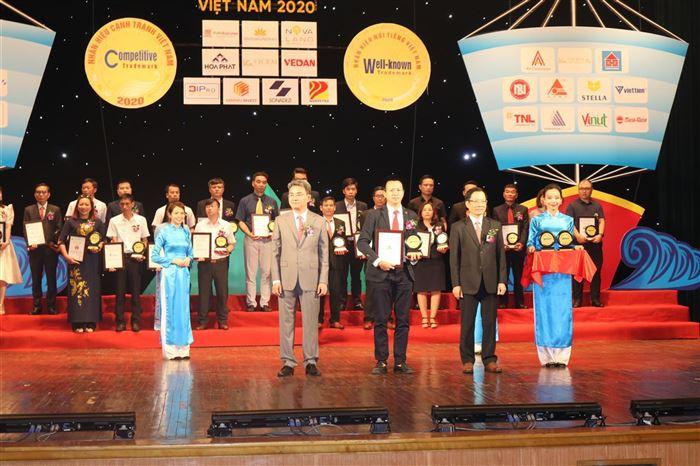 Công ty CONSTREXIM – HOD nhận danh hiệu nhãn hiệu nổi tiếng – nhãn hiệu cạnh tranh Việt Nam năm 2020.
