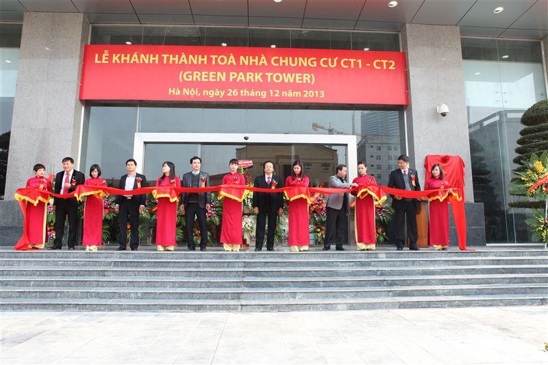 Khánh thành tòa nhà CT1 - CT2 ( Green Park )