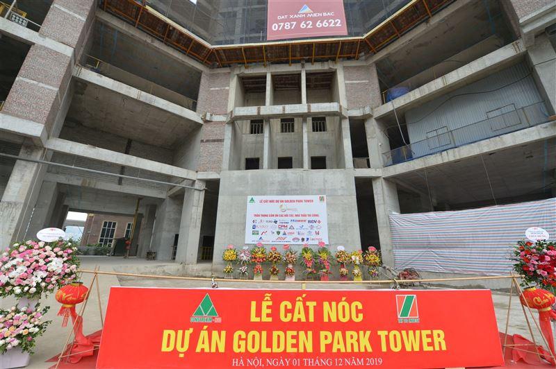 Lễ cất nóc dự án Golden Park Tower