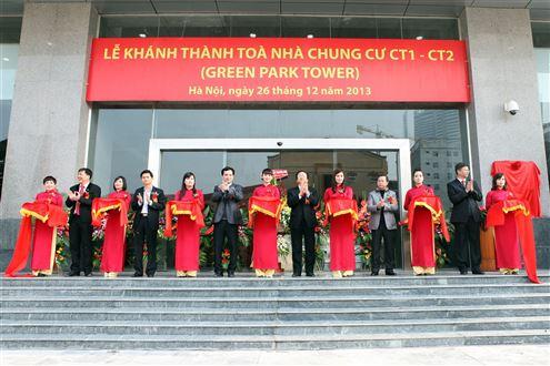 Khánh thành tòa nhà GREEN PARK