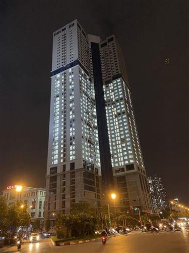 Hoàn thành việc xông hệ thống điện đự án Golden Park Tower