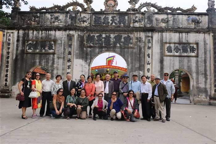 Công ty CONSTREXIM – HOD tổ chức đoàn cán bộ hưu trí CONSTREXIM và Bộ Xây dựng thăm quan TP. Chí Linh
