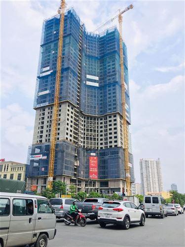 Liên hoan hoàn thành đổ bê tông tầng 40 dự án Golden Park Tower