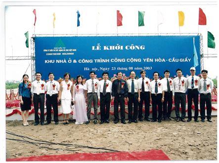Lễ Khởi công năm 2003